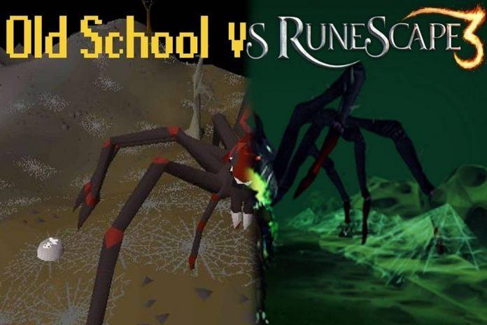 runescape 3 vs old school runescape 2020