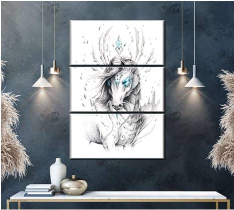 cool picture frame wall art ideas