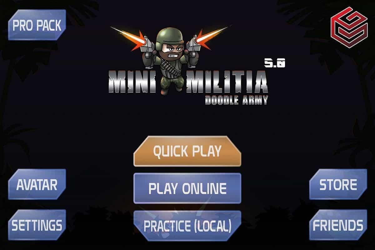 Install Mini Militia New Version