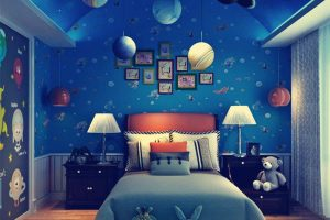 Galaxy 3d bedding