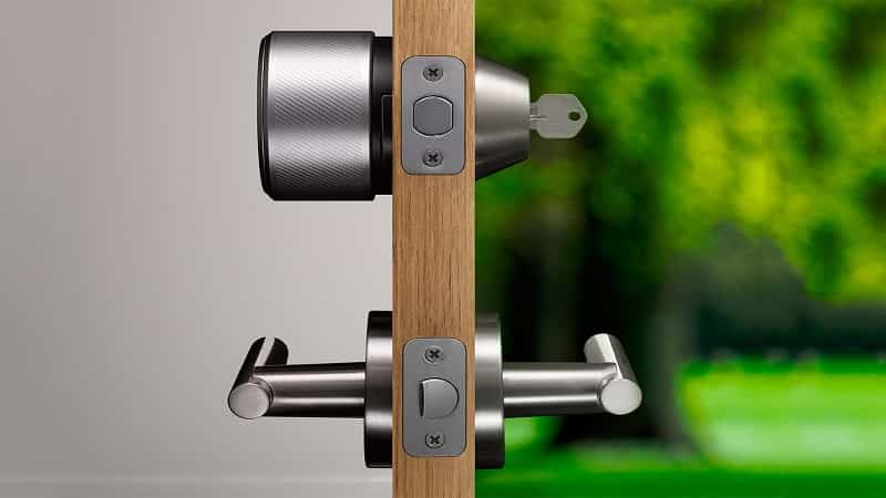 Open a Door Lock without a Key