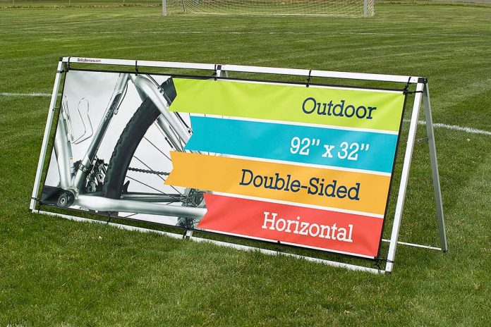 Outdoor Banner Frames