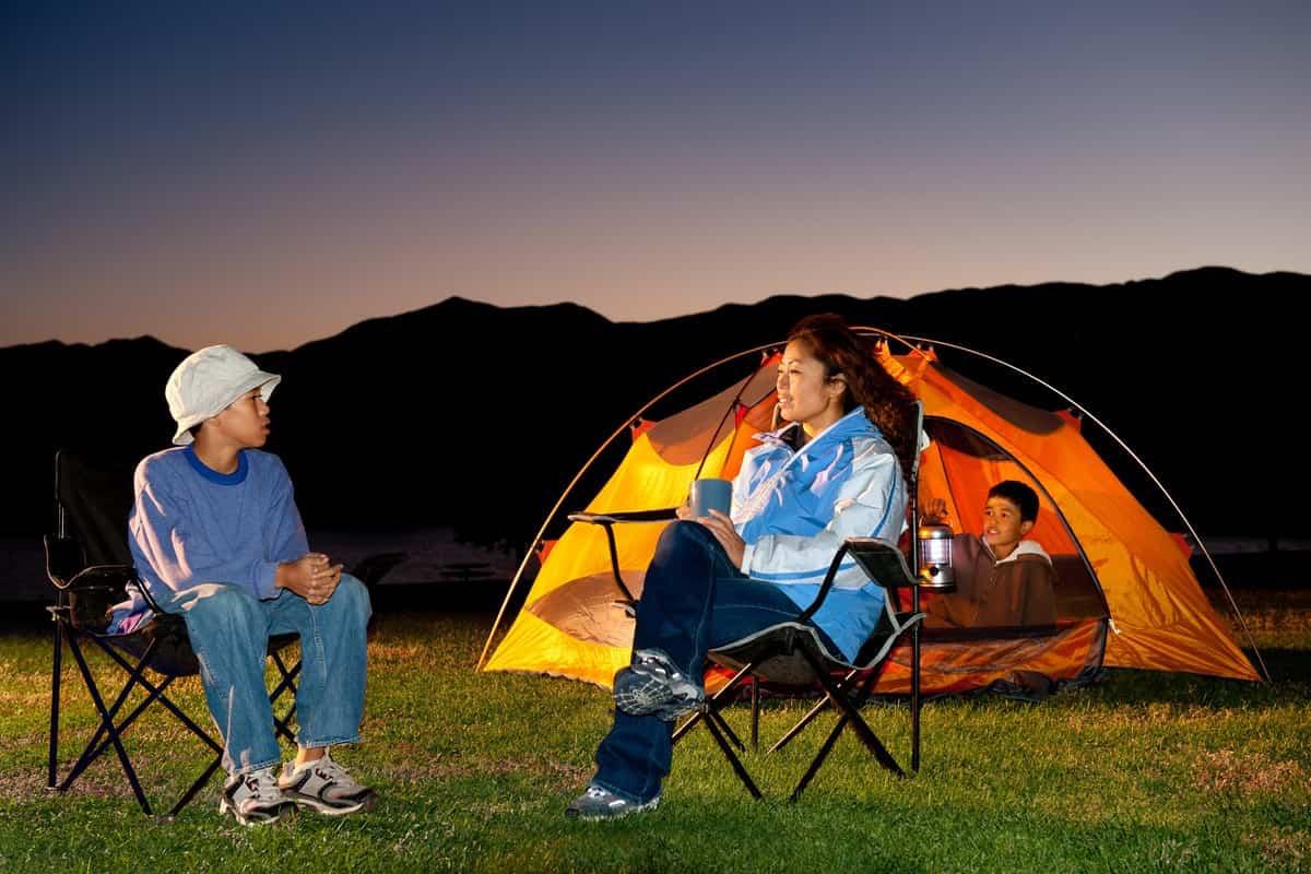 Semi-Permanent Camping Tents