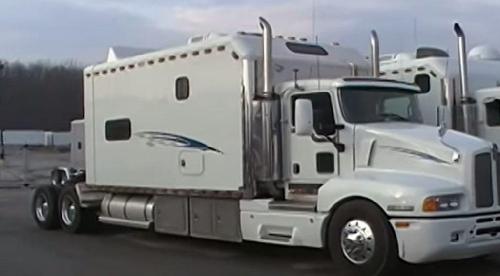 Semi-Truck-Cab