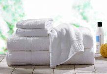 White Luxury Bath Towel