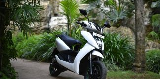 ather energy electric scooter