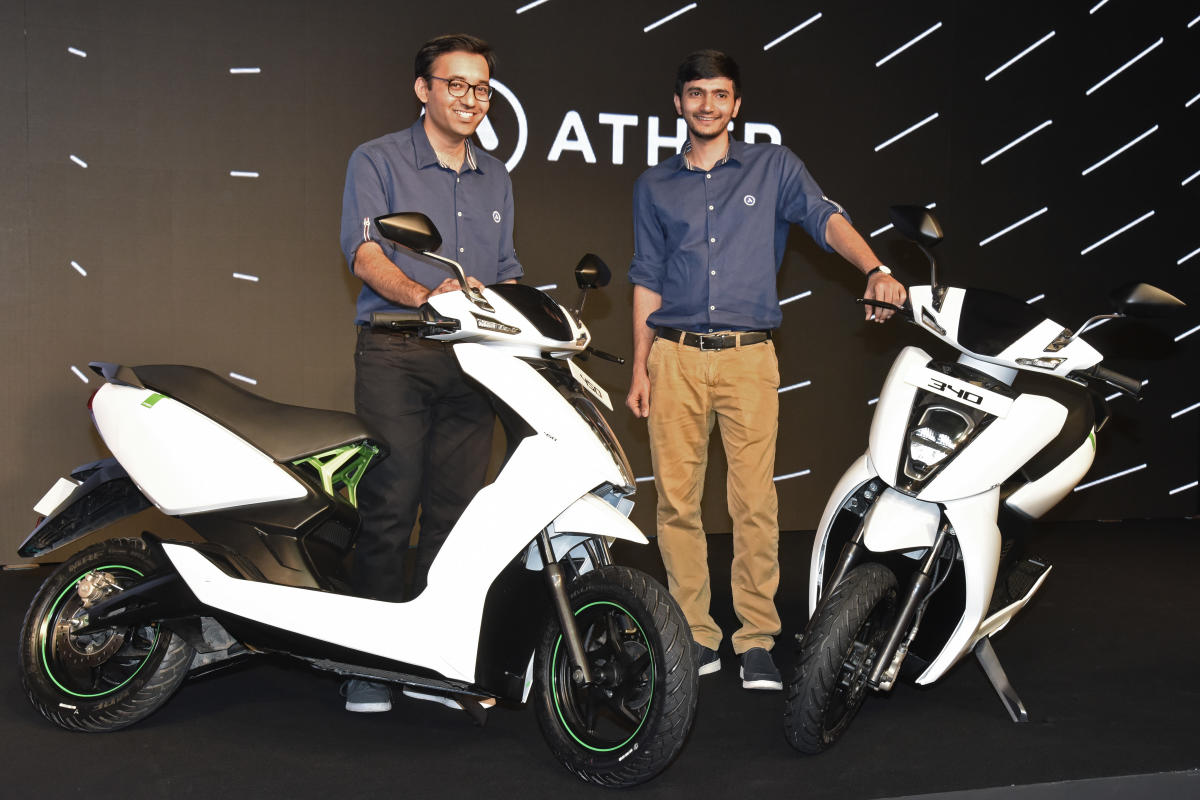 ather energy electric scooter price in india