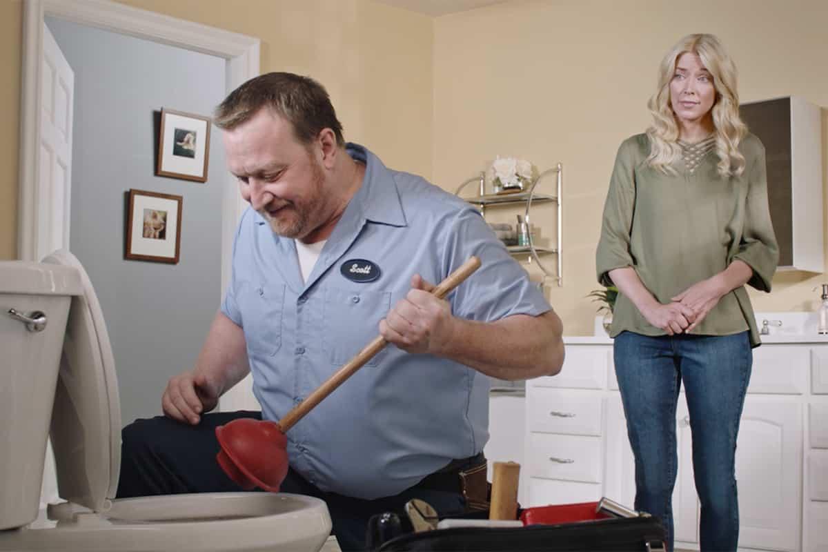 call local plumber