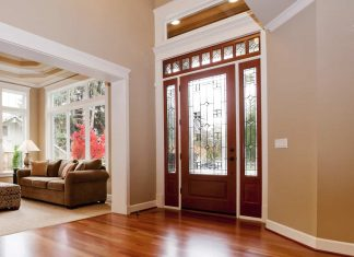 glass doors design