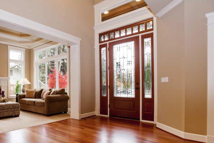 glass doors design