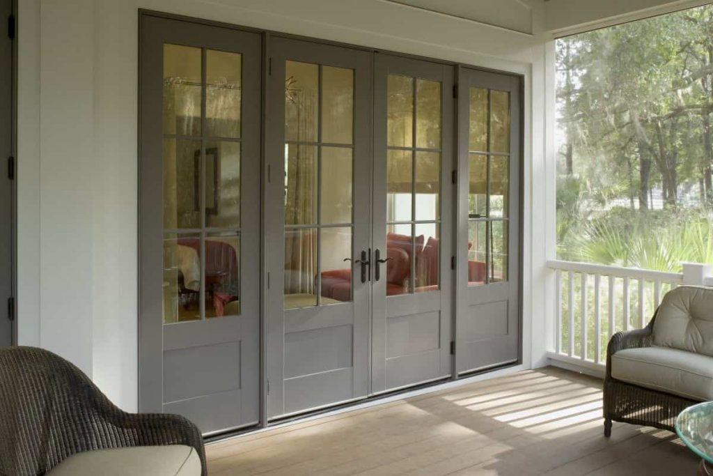 glass doors design for home