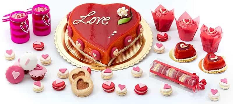 valentine's day cake gift ideas