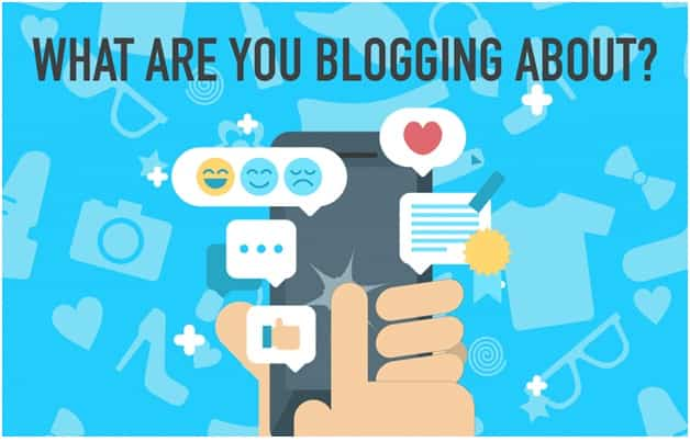 what are you blogging about